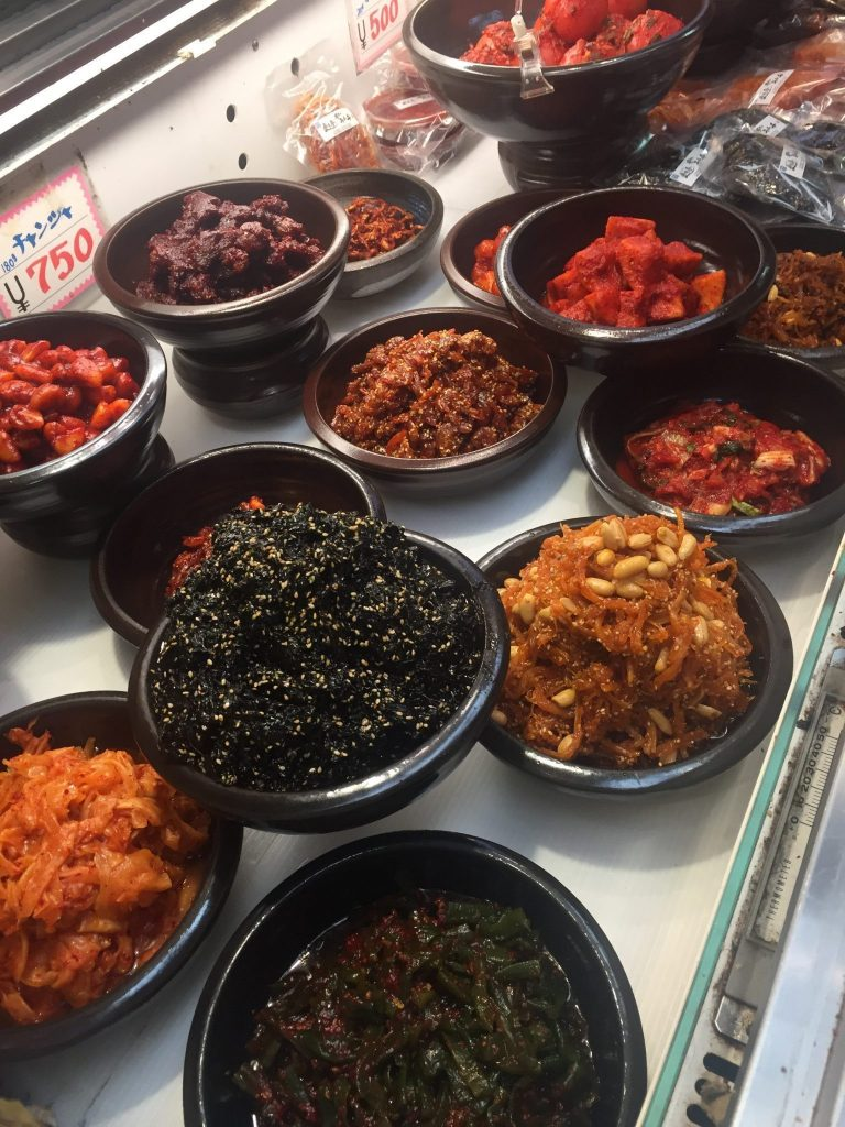 amazing sides in korea town