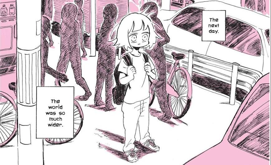 manga lesbian experience