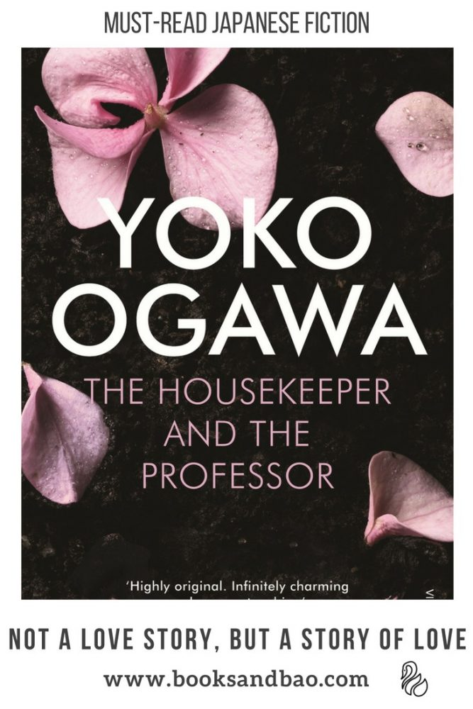 Yoko Ogawa Housekeeper and the Professor Japanese