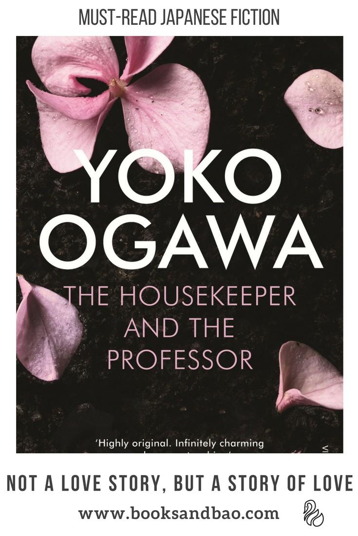 Yoko Ogawa Housekeeper and the Professor Japanese