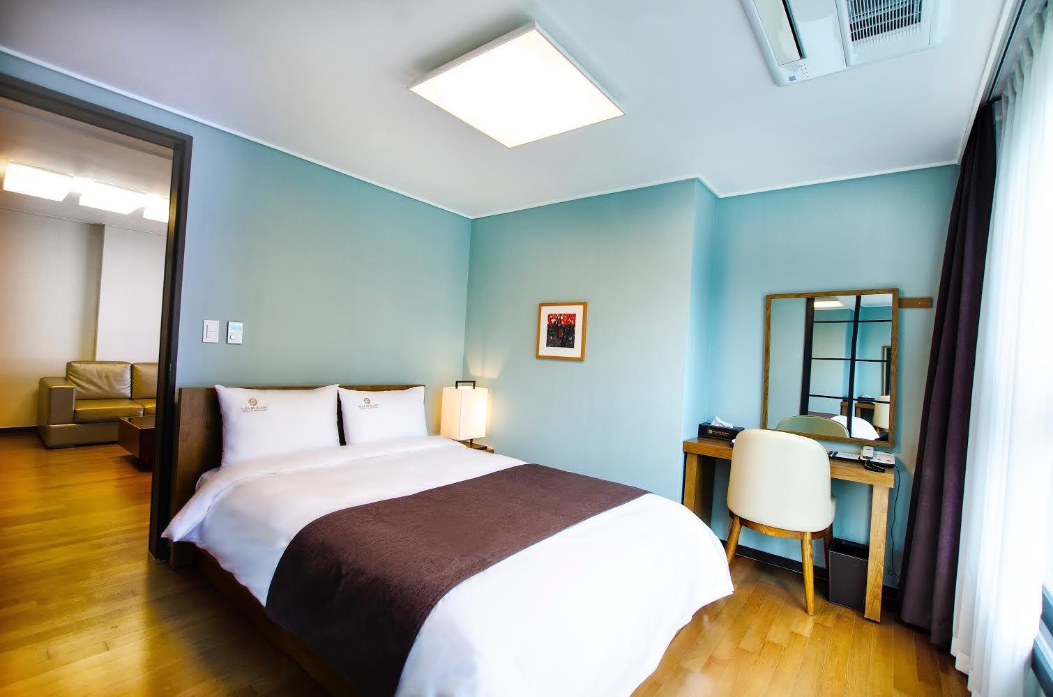 Hotel Busan Plea de blanc