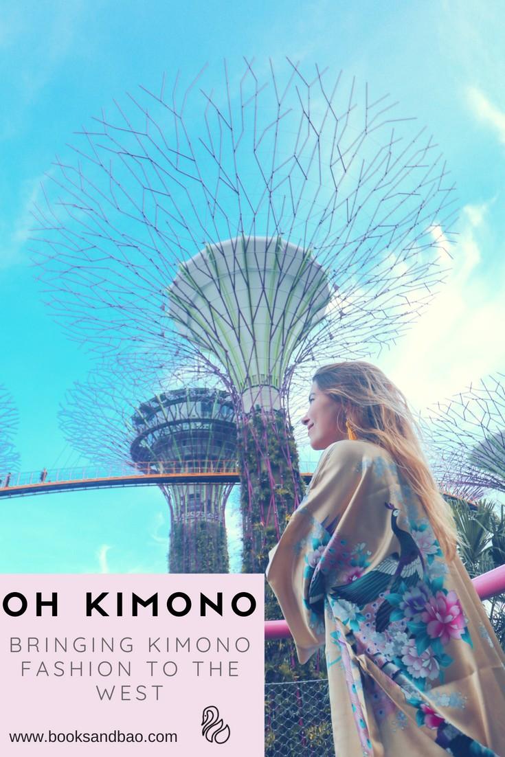 Oh Kimono Asian Elegant Fashion
