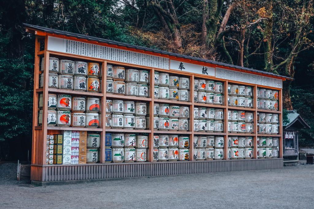 Temple kamakura Japan