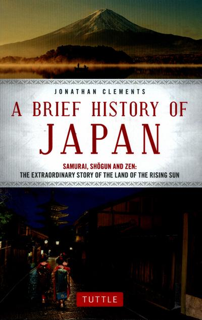 brief history of japan jonathan clements
