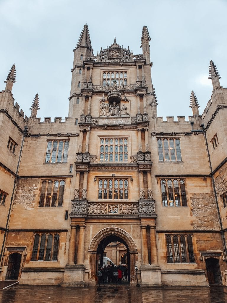 oxford uk literary holiday