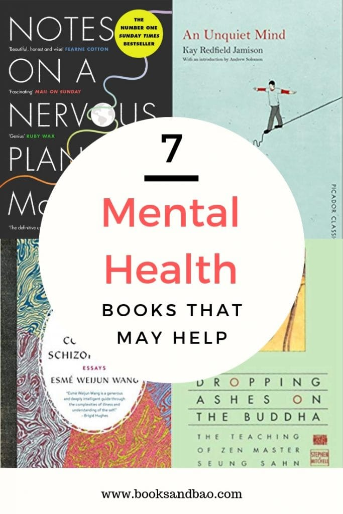 Inspirational, informative and enlightening books on mental health that may help lighten the load a little or teach you something new. #booklists #inspirational #inspirationalbooks #inspirationalwords #amreading #bookstoread #booklist #mentalhealth