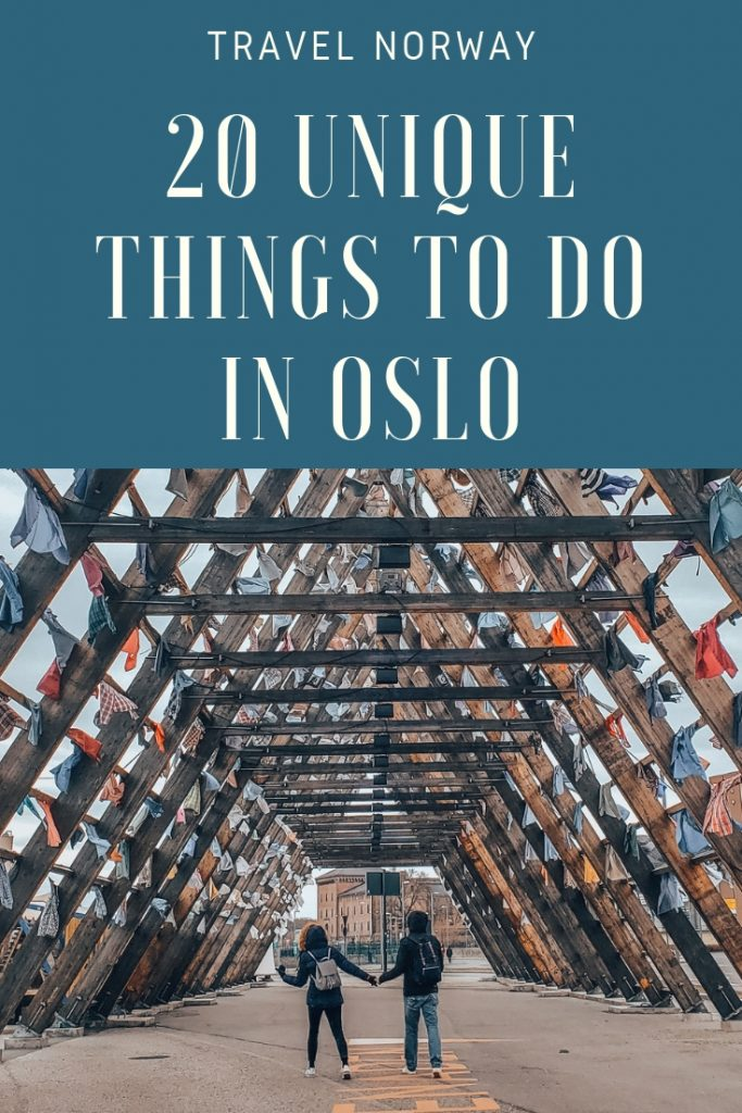 20 Unique Things to do in Oslo, Norway | Books and Bao | Oslo is a unique city and foten when people arrive they have no idea where to start. There are no obvious landmarks (apart from the hundreds of statues) and key areas are spread out. Make sure you get started on the right foot with this travel guide to Oslo. These are 20 of our favourite activities, restaurants, and places to stay. #oslo #cityguide #citybreak #travelguide #travel #visitnorway #visitoslo