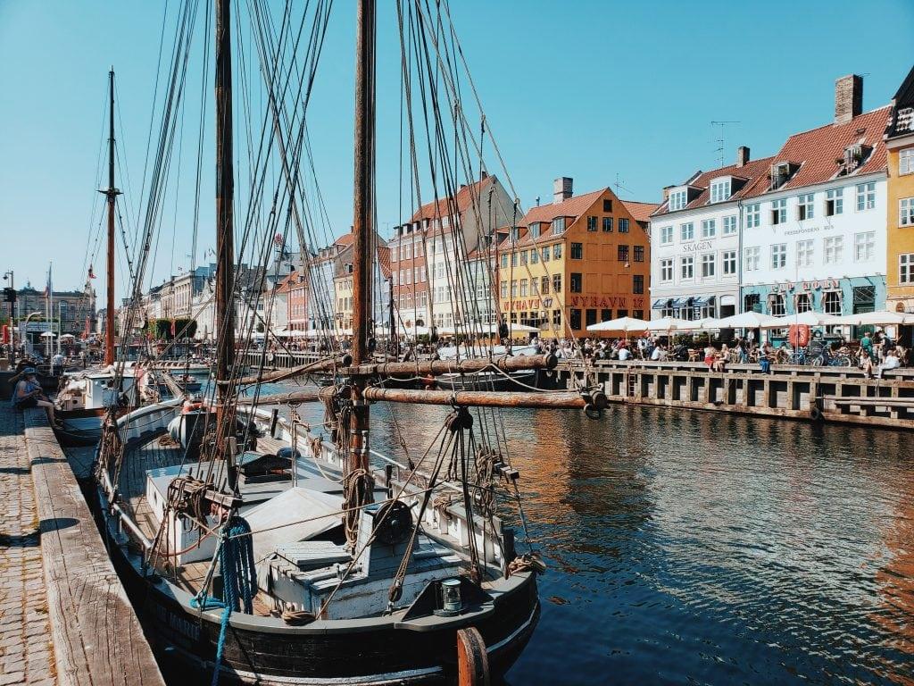Nyhavn Denmark Copenhagen