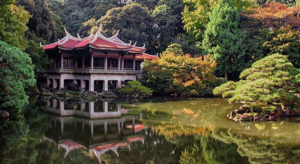 Tokyo palaces and gardens