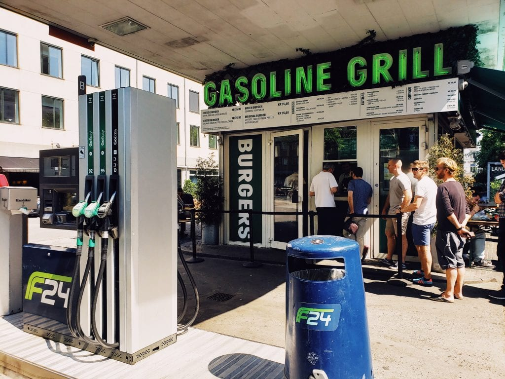 Gasoline Grill Copenhagen Budget Meals