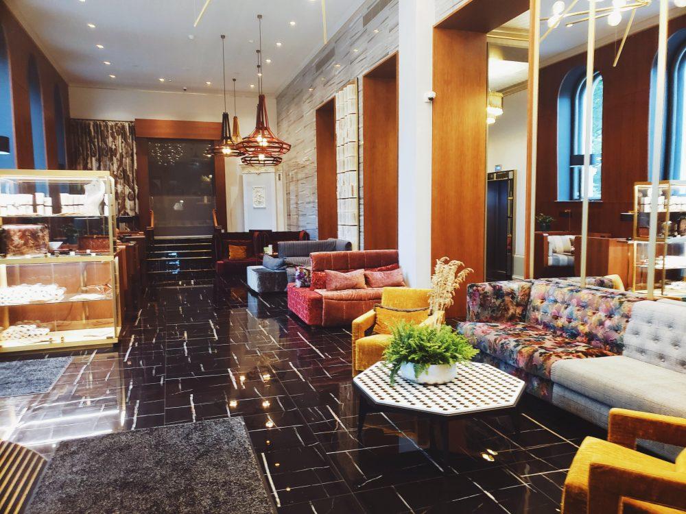 The Grand Poet Hotel Lobby