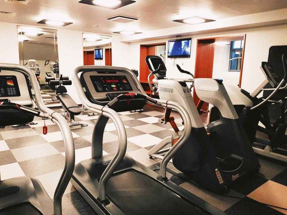 The Grand Poet Hotel Riga Gym