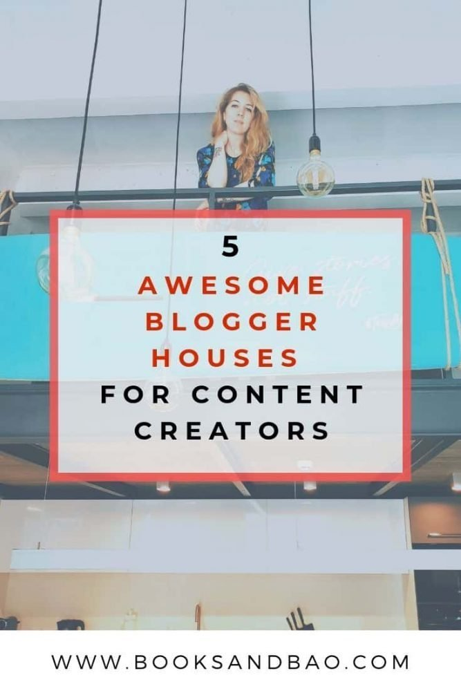 Awesome Blogger Houses For Content Creators | Books and Bao