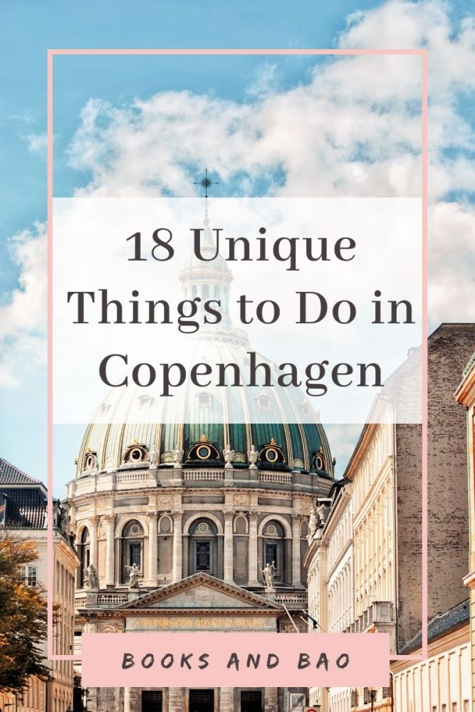 18 Unique things to Do in Copenhagen | Books and Bao In so many ways, Copenhagen is a fairytale. So, in this fairytale city, let's take a look at the most unique things to do in Copenhagen. #traveldestinations #denmarktravel #hygge #copenhagentravel europetravel #citybreak