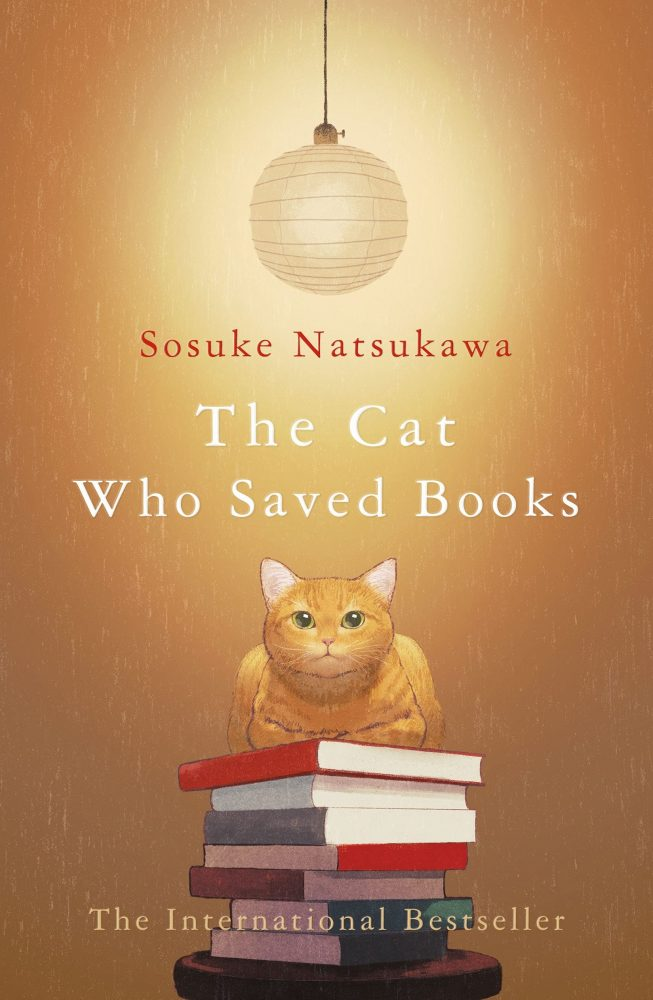 the cat who saved books sosuke natsukawa