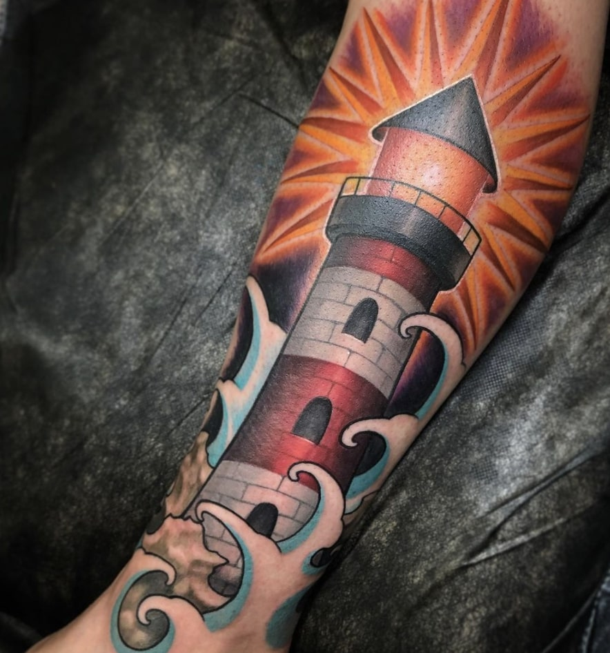 Brandon Schultheis tattoo artist
