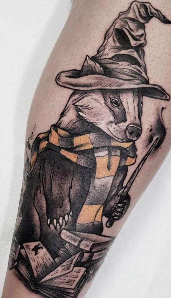 hufflepuff tattoo