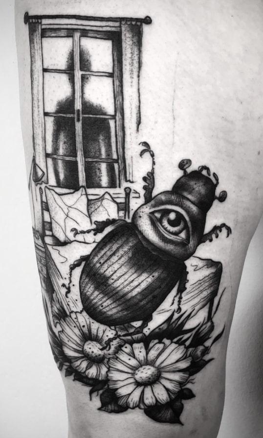 franz kafka tattoo