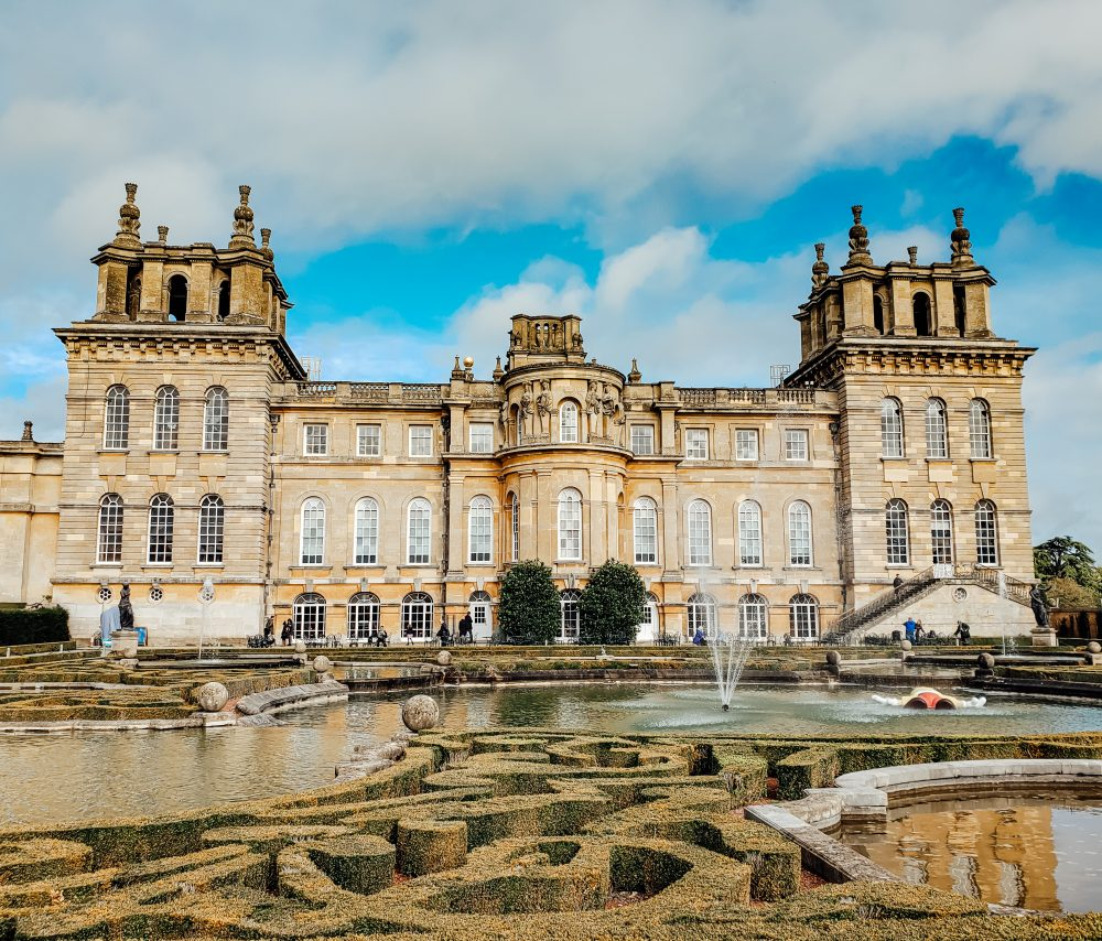 blenheim palace woodstock oxfordshire