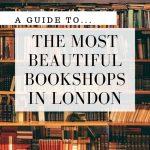 beautiful bookshops in london