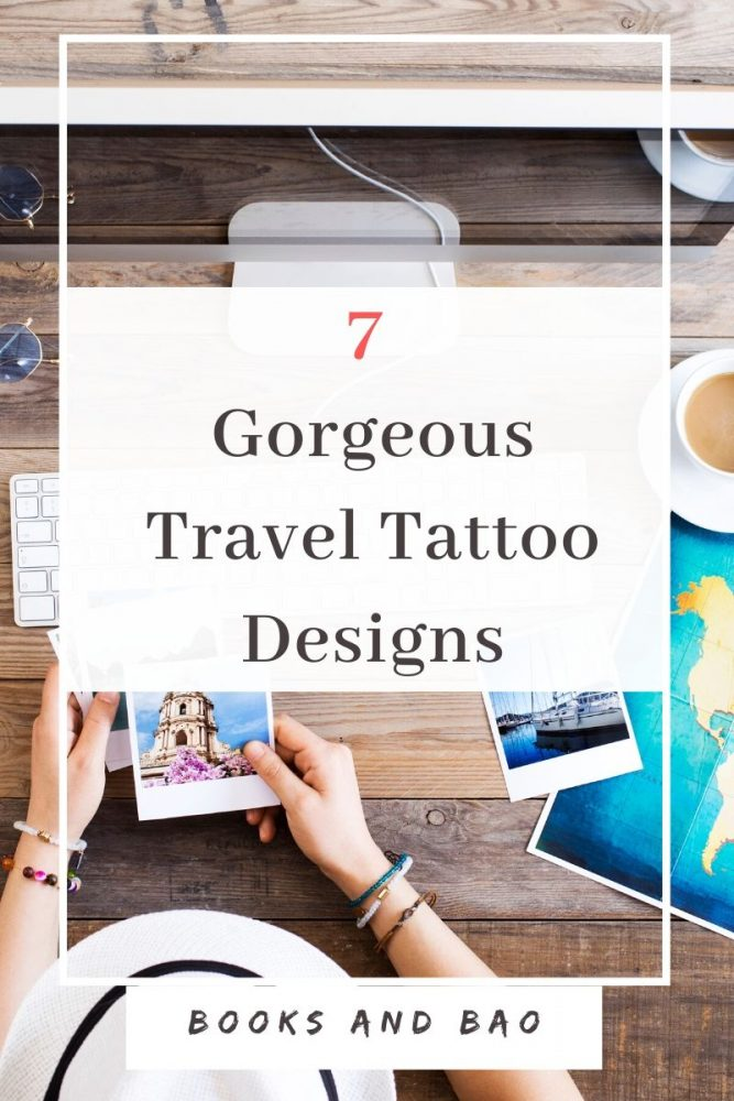 Best Travel Tattoos| From globe tattoos to backpack tattoos, check out the most imaginative and inspiring travel tattoos that celebrate the open road and those who walk it! #tattoodesigns #tattoostudios #traveltattoo #smalltattoo #cutetattoo #art