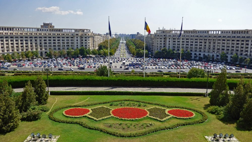 bulevard unirii bucharest romania