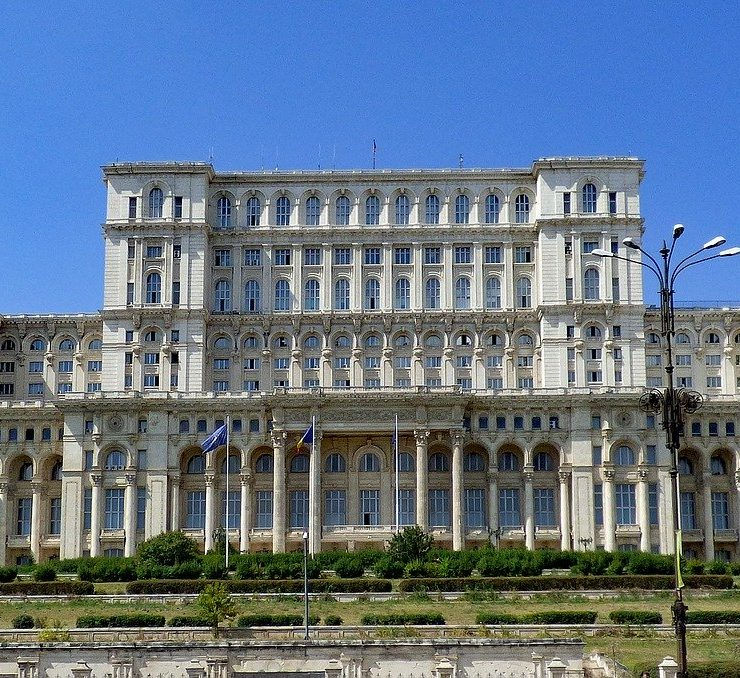 the palace of parliament bucharest romania