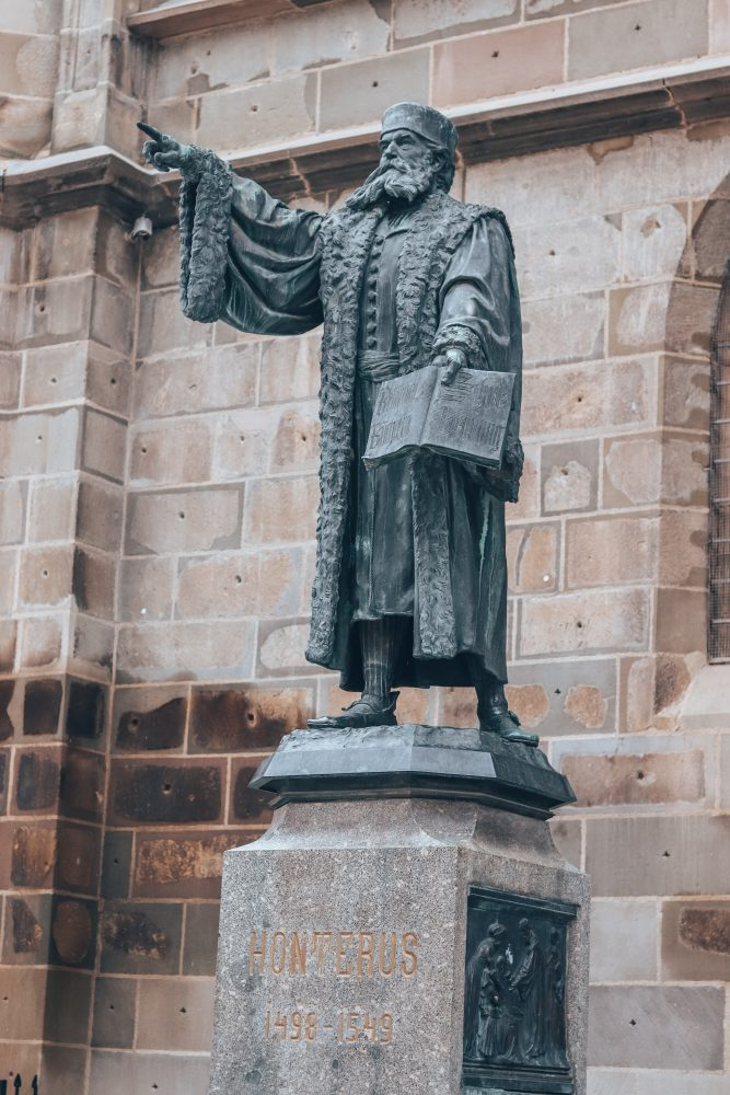 johannes honster statue black church