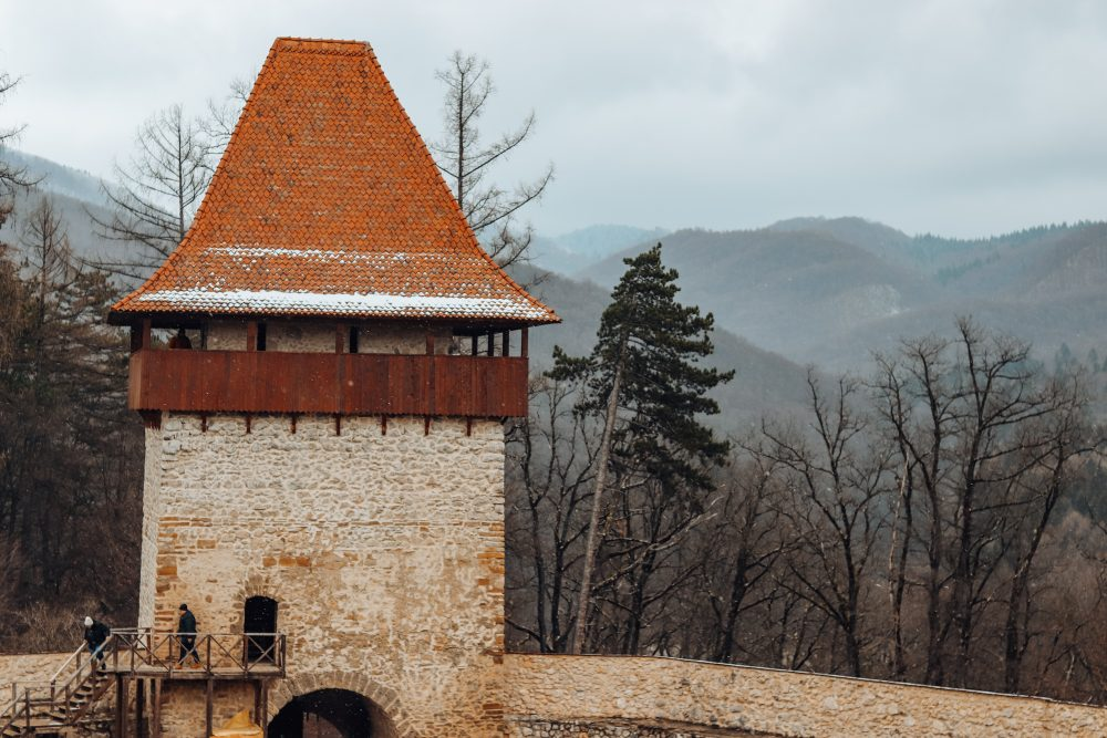 rasnov fortress transylvania