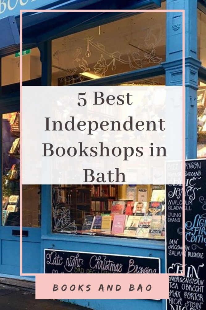5 Best independent Bookshops, Bath | Bath provides everything that a bookworm could want. Eat at a local pub, wander the friendly streets, and pay a visit to these five wonderful bookshops. #bookstores #books #booklists #bath #uk #citybreak