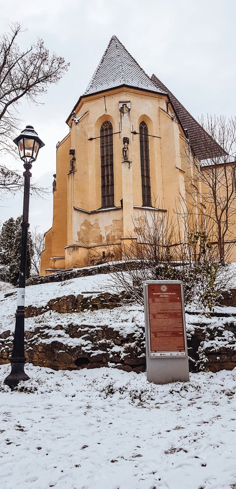 evangelical church on the hill sighisoara