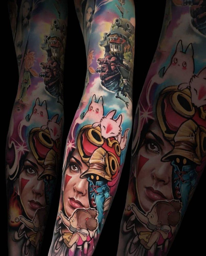 Carolina Caos Avalle tattoo artist