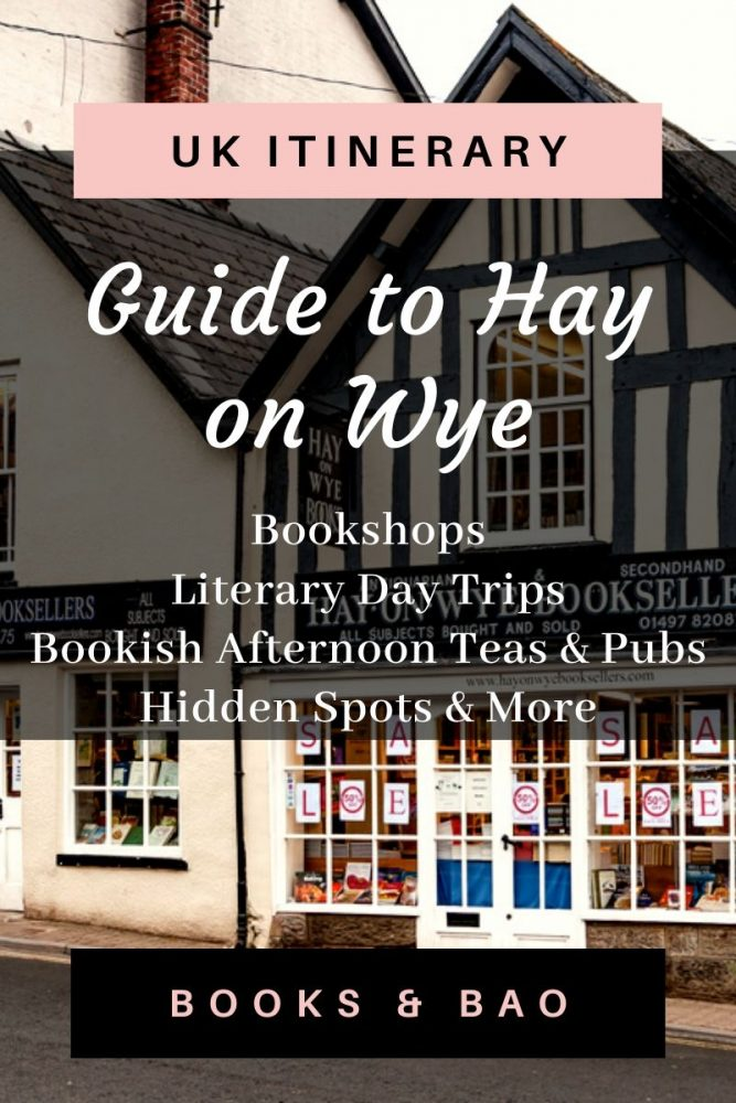 Hay on Wye Guide UK |The Hay on Wye bookshops are legendary but there are also pubs & cafes you should eat at, and delightful places to visit nearby! Here's your complete guide. #bookishplaces #literarytravel #books #beautifulplaces #traveldestinations