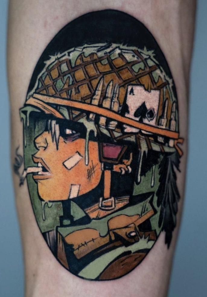 rheea devri tattoo artist
