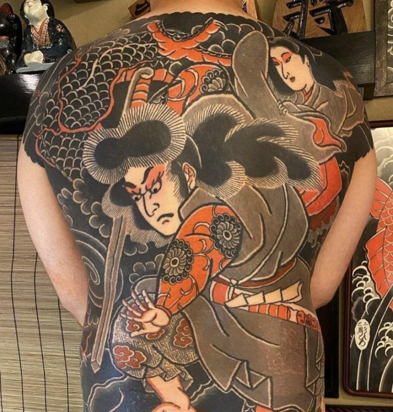 tokyo three tides tattoo