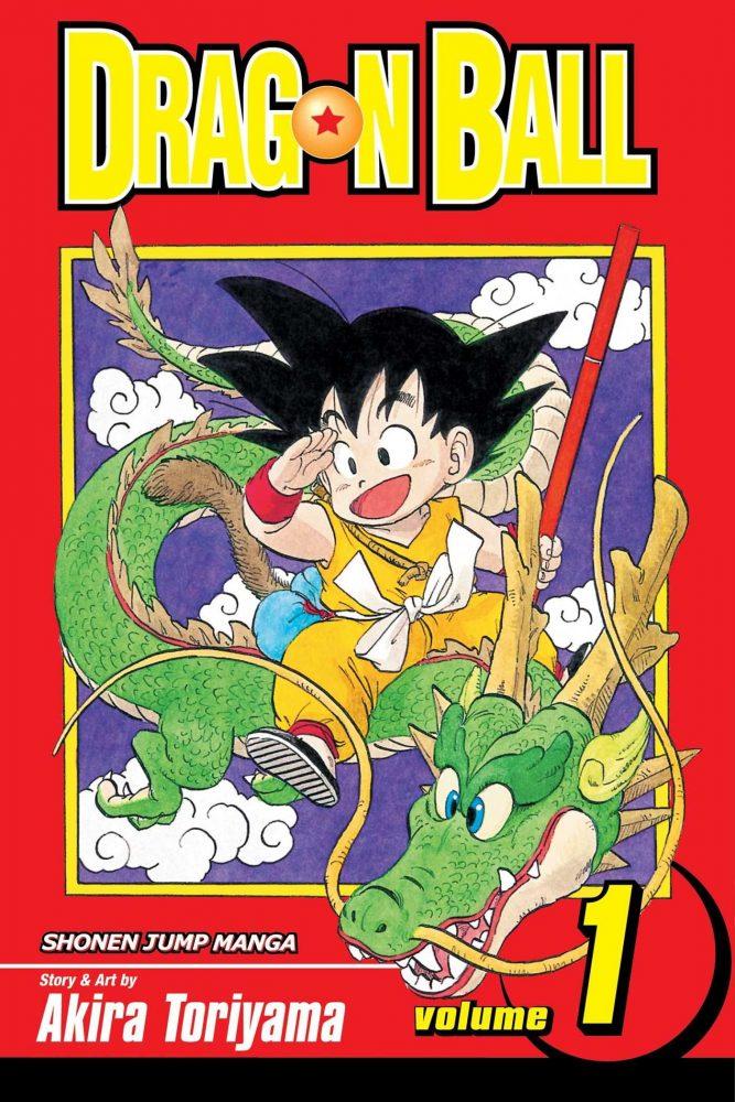 dragon ball manga cover