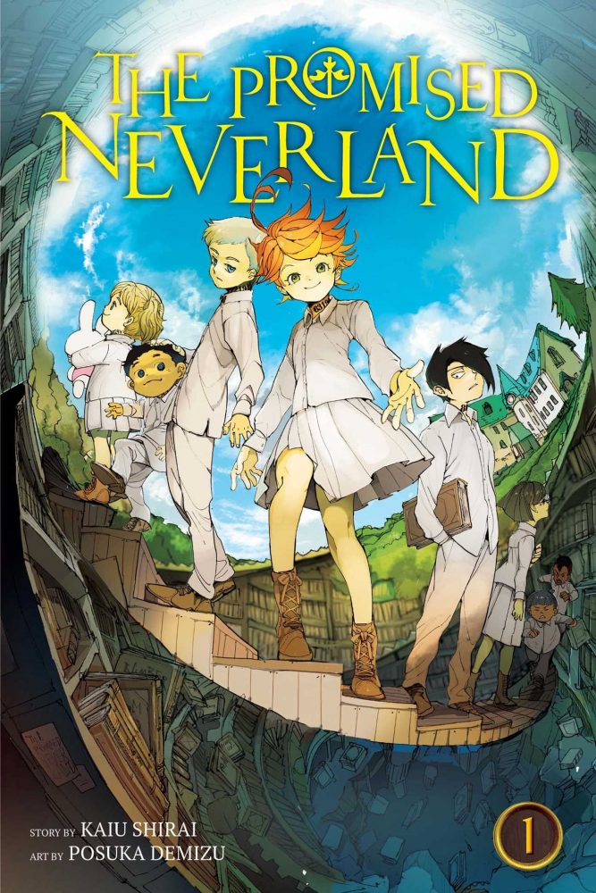 the promised neverland manga cover
