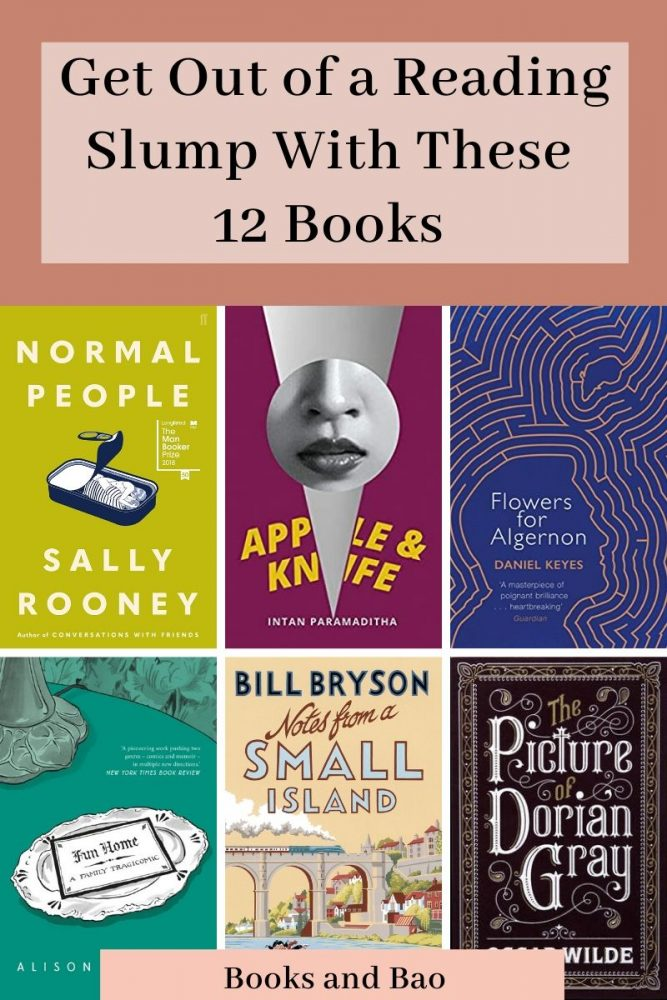 12 Books to Get out of a Reading Slump