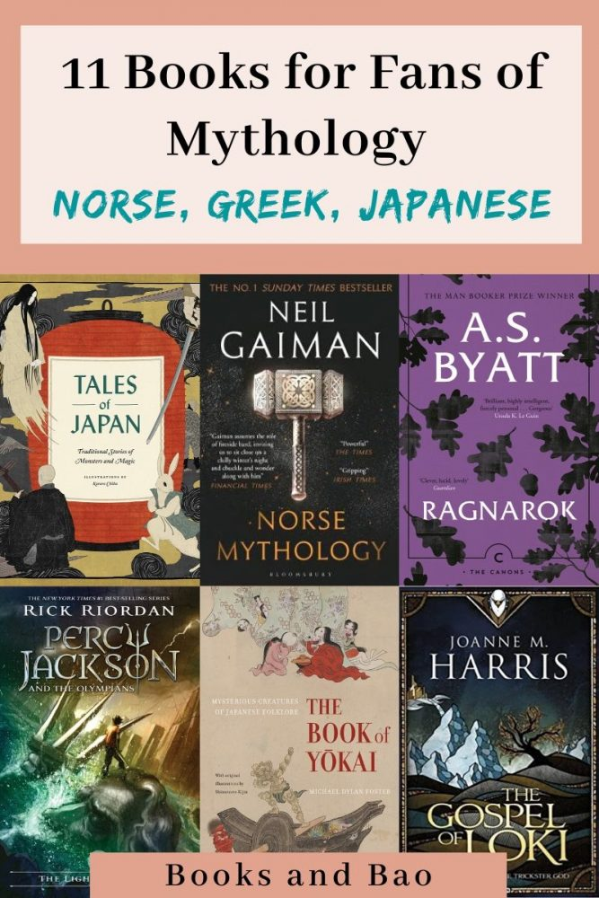 For lovers of mythology, these norse, greey, and Japanese books will satisfy your every need. #mythology #norse #greekmyths #booklists #booklist #amreading #shortstories