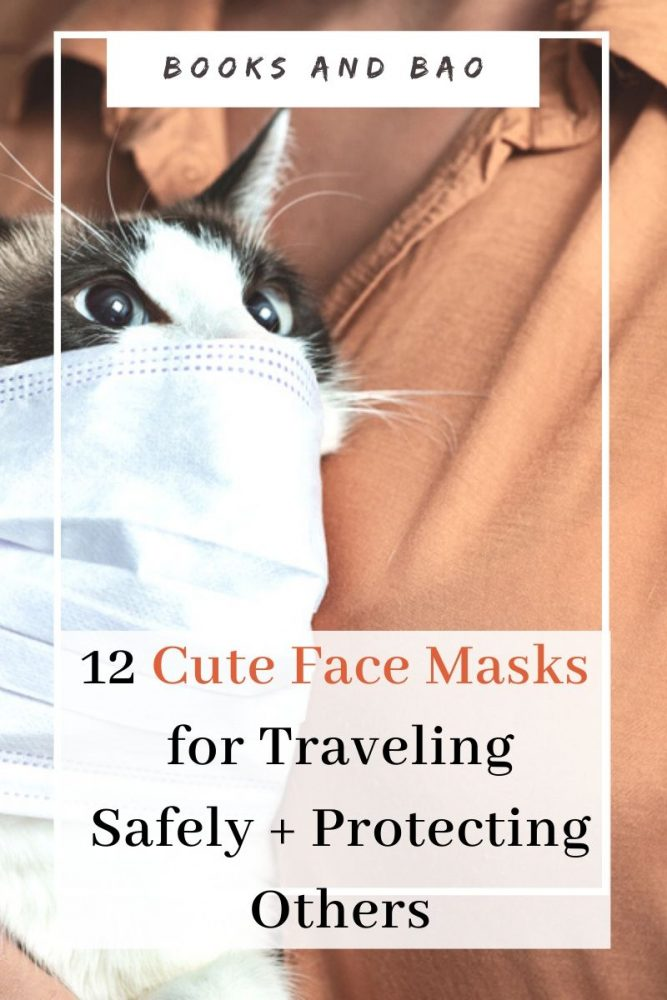 Protect yourself and others while travelling and day-to-day with one of these cute non-medical grade face masks. Plus face mask sewing & crochet patterns. #facemasks #cutefacemasks #facemaskpatterns #facemaskdiy #facemasksewingpattern