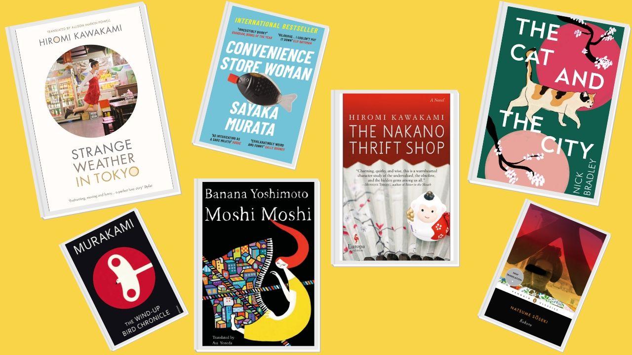 books set in tokyo