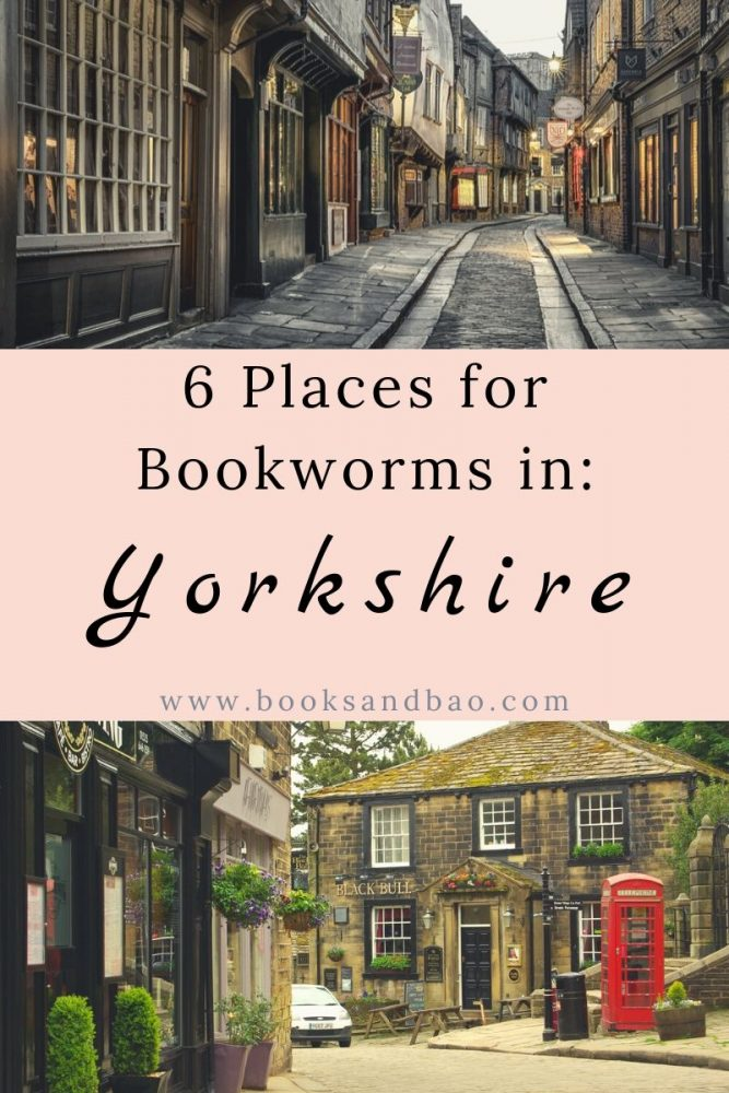The UK's greatest writers were inspired by Yorkshire. From Dracula's Castle to Diagon Alley, here are the best places to visit in Yorkshire for bookworms. #englandtravel #literarytravel #bookishplaces #harrypotter #bronte #beautifulplaces #england
