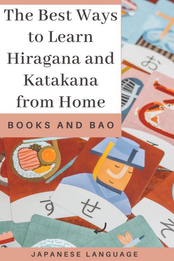 learn hiragana katakana from home