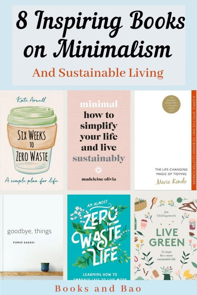 If you're looking to change your daily life in a meaningful way then browse the best books on minimalism & sustainable living from zero waste to foraging. #sustainablelifestyle #greenliving #sustainability #minimalism #ecofriendly #vegan