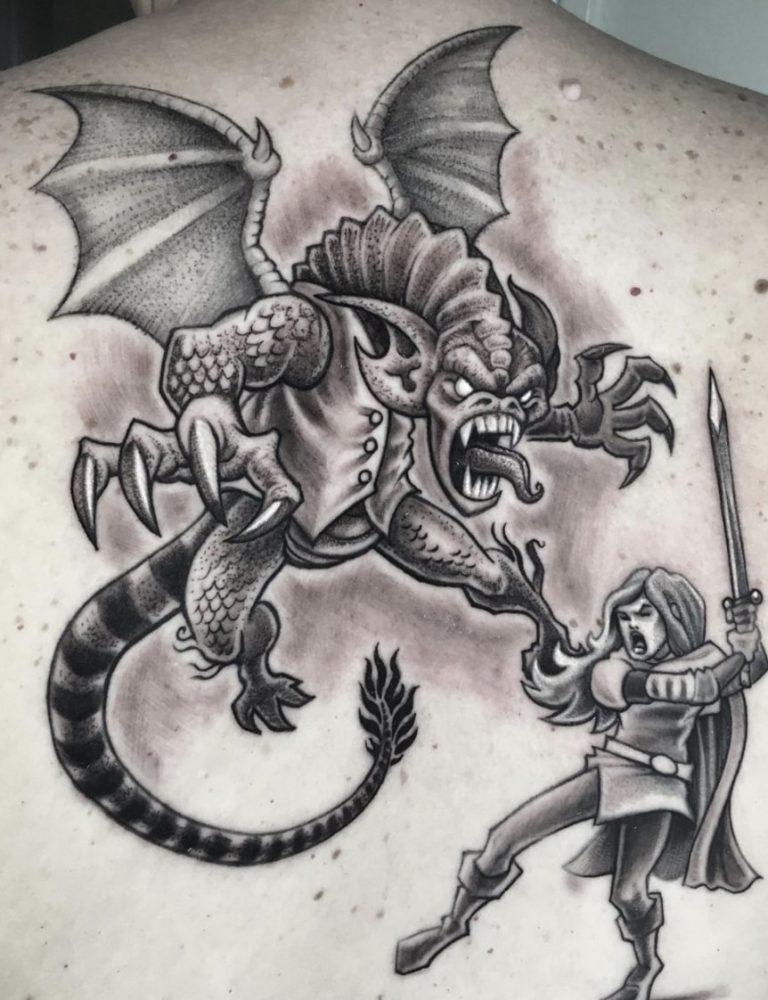 jabberwocky tattoo