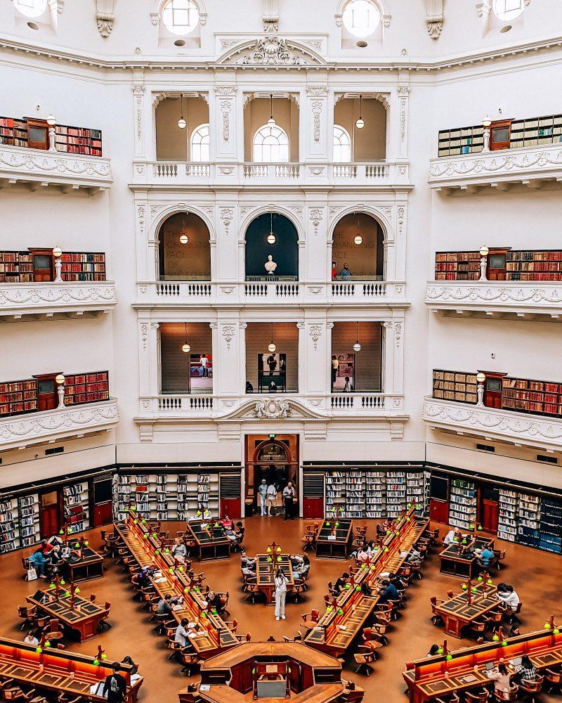 La Trobe Reading Room State Library Victoria