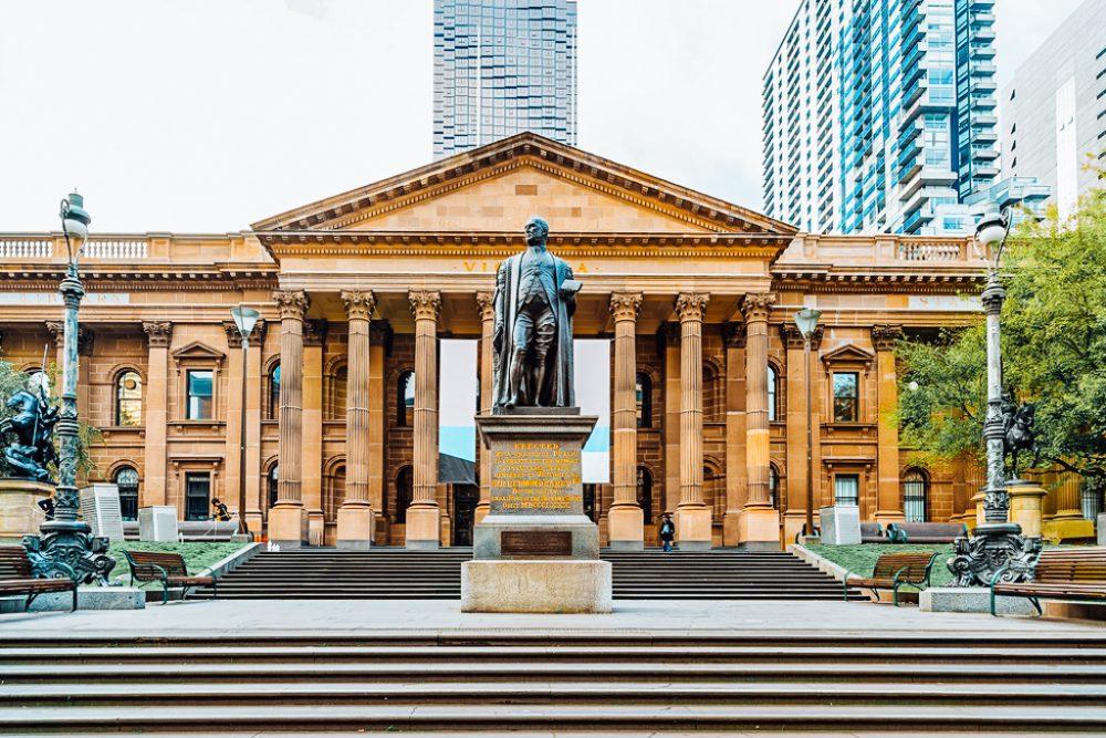 melbourne state library australia