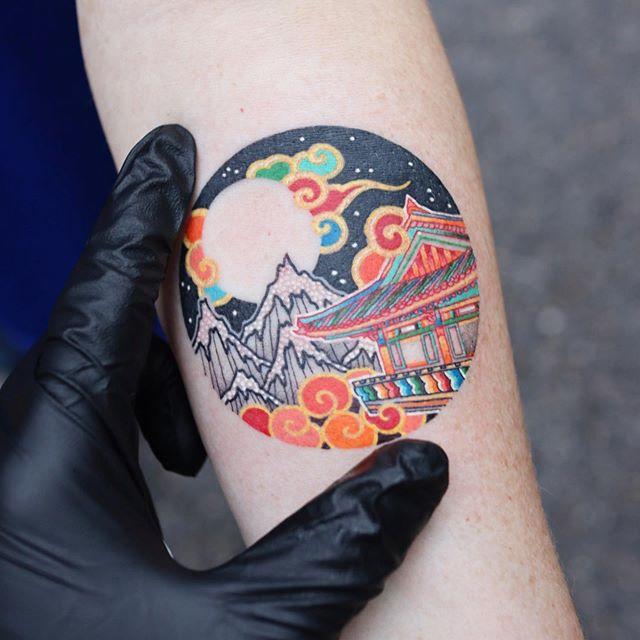 pitta South Korean tattoo Artist