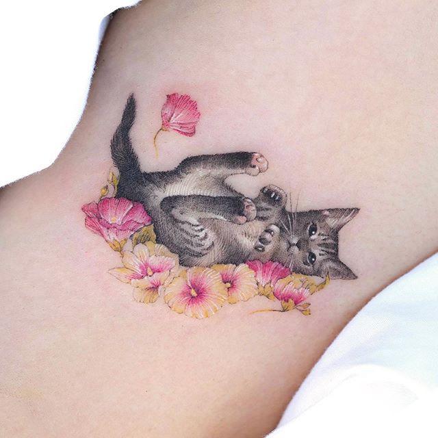 tattoo artist korea Sol