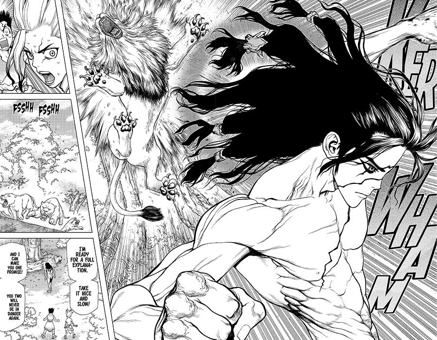 dr stone manga art
